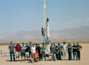 The Iceye and Vector Space Systems team just before the launch.